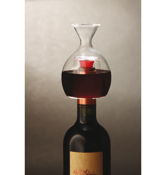 """Oxigenador de botella """"Ver el vino"""""""