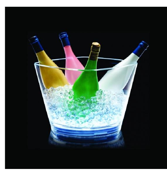 Champanera Square LED 5 botellas