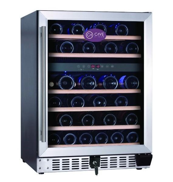 Vinoteca doble temperatura CV-46-2T