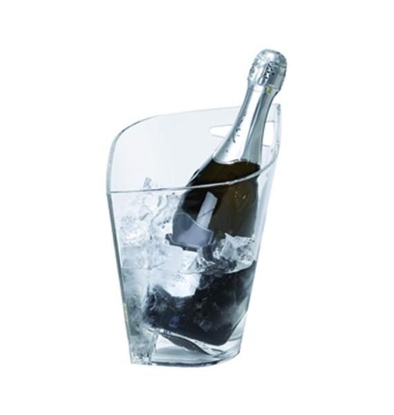 Cubitera Spades 1 botella acrílica transparente