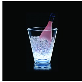 Cubitera Square LED 1 botella