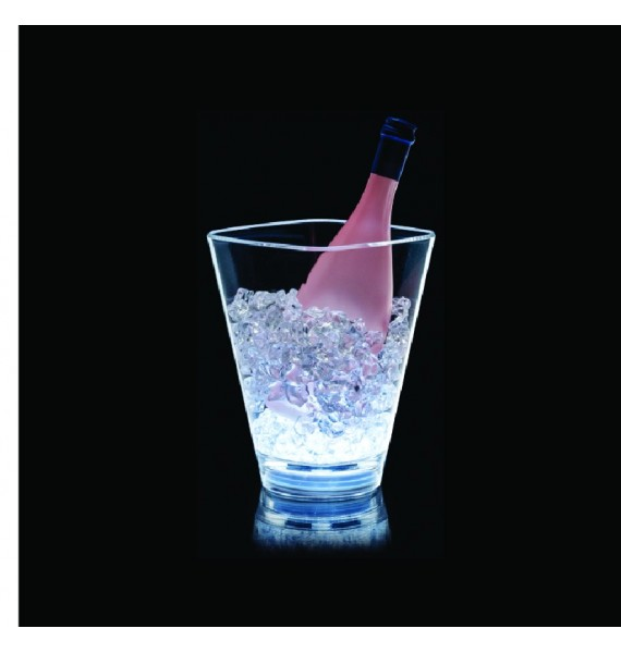 Cubitera Square LED 1 botella