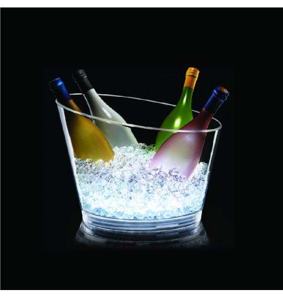 Champanera Slice Bowl LED 6-8 botellas