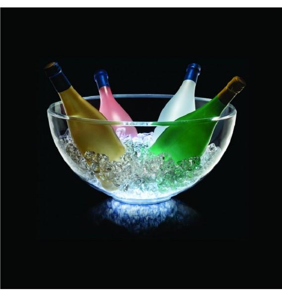 Champanera Elegance Classic LED 6 botellas