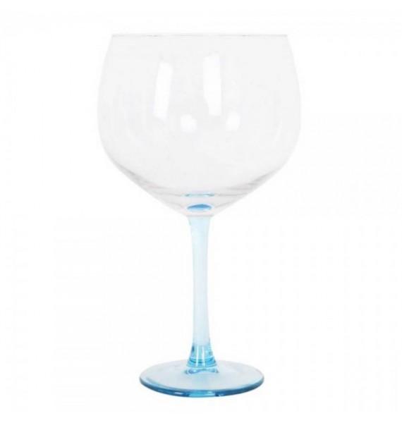 Copa gin balon 65 cl tallo azul