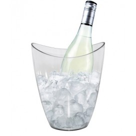 Ice Bucket for 1 bottle Space transparent