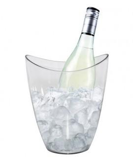 Cubitera 1 botella Space transparente