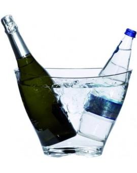Cubitera Iceberg 1-2 botellas acrílica