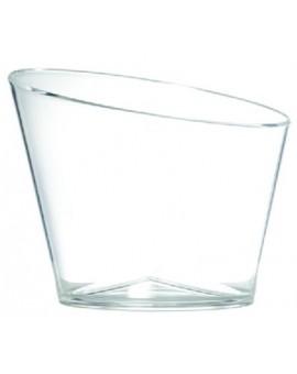 Cubitera Slice 2 botellas acrílico transparente