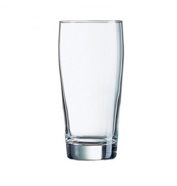 Vaso cerveza media pinta Willy 27 cl