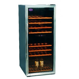 Double temperature wine cellar CV-160-2T-I